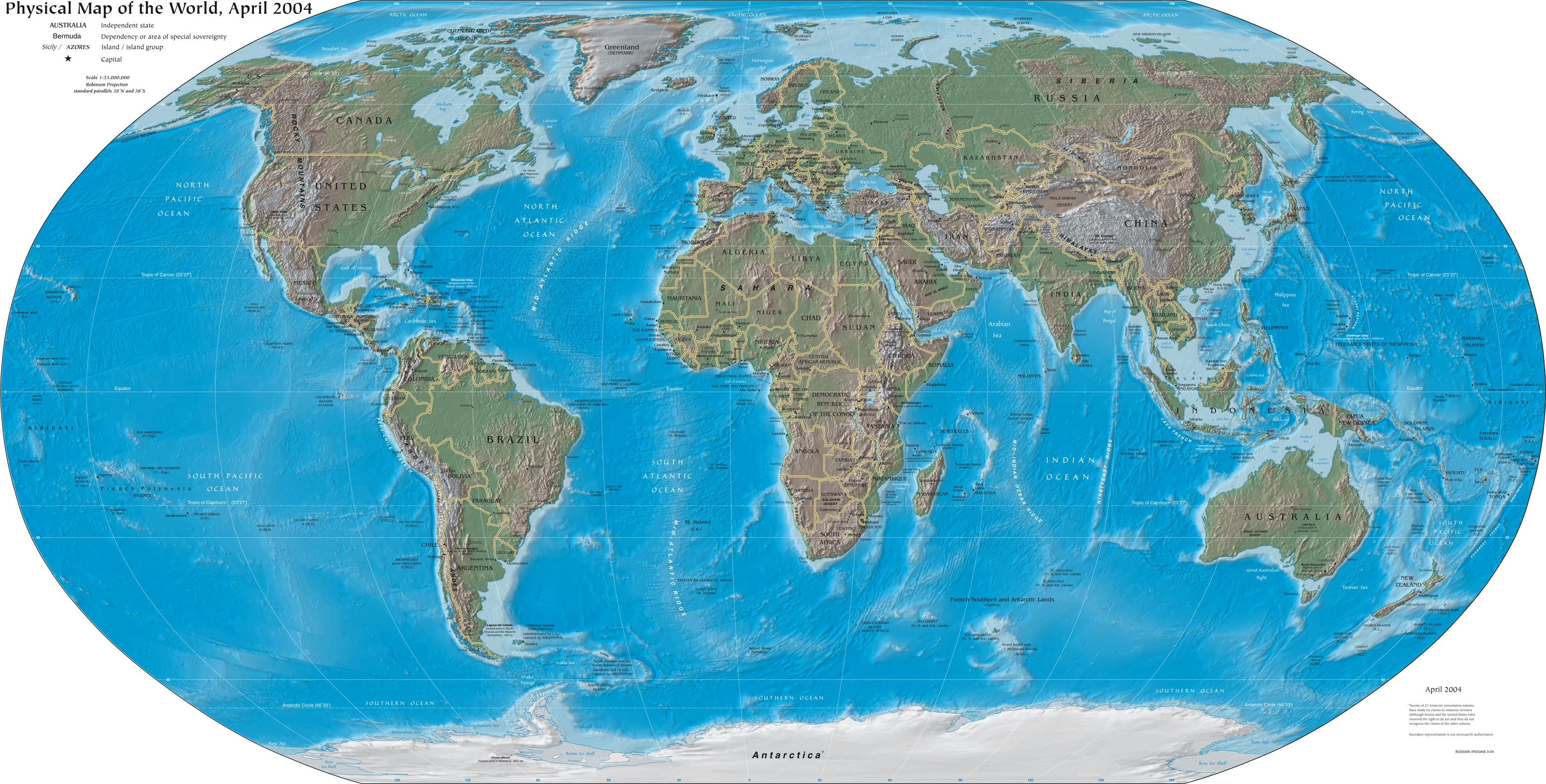 Geography Maps | Evolutionside