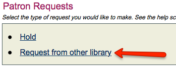 Step 3: Click Request from other library