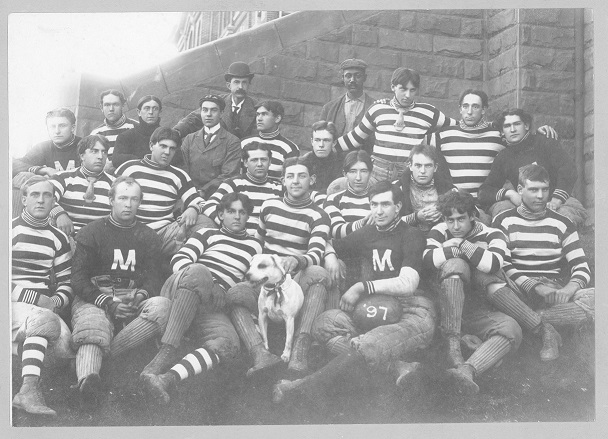 Colorado School of Mines football team; 1897; group photograph