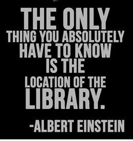 the only thing you have to know...einstein