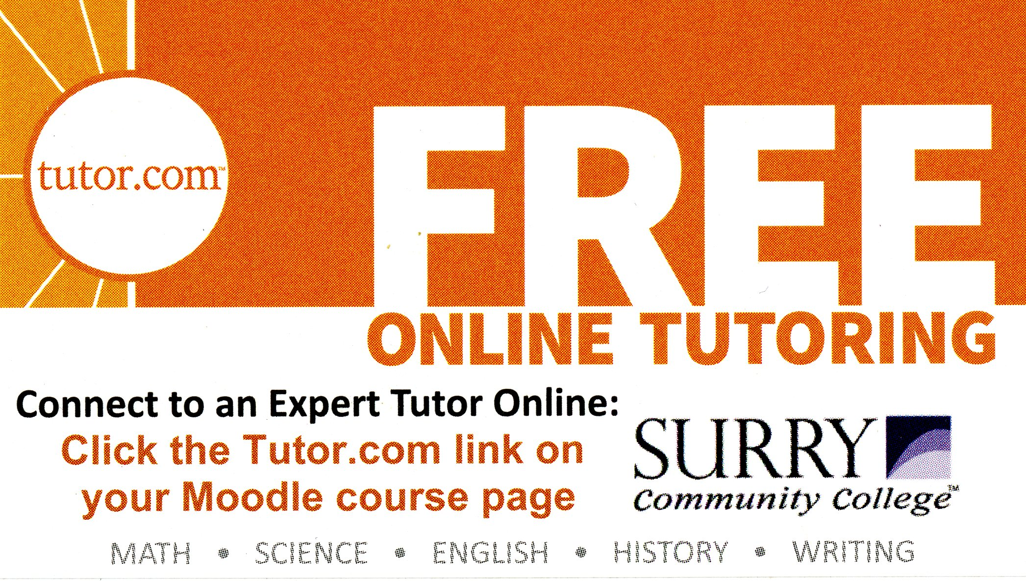 Online Tutoring - Academic Support Center - Library at Surry ...