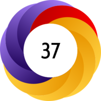 An Altmetric donut example strong with policy attention