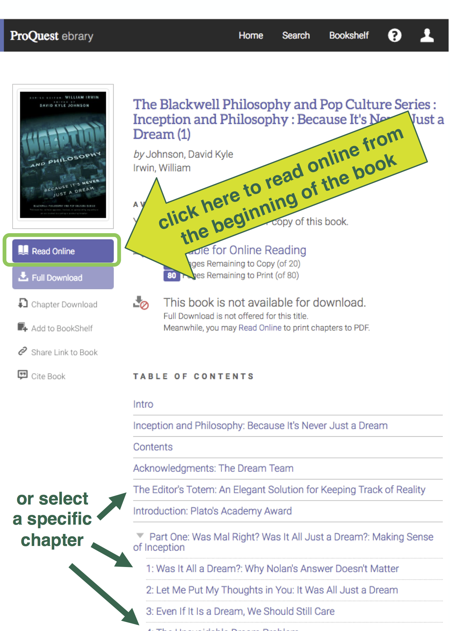 [proquest Ebook Central Is Replacing Proquest Ebrary, And The Two Platforms  Have Nearly Identical Interfaces €� Screenshots Of Ebook Central Will Be  Added