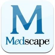 medscape app button