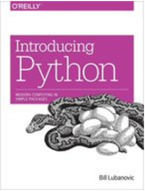 Sample O'Reilly Cover - Introducing Python