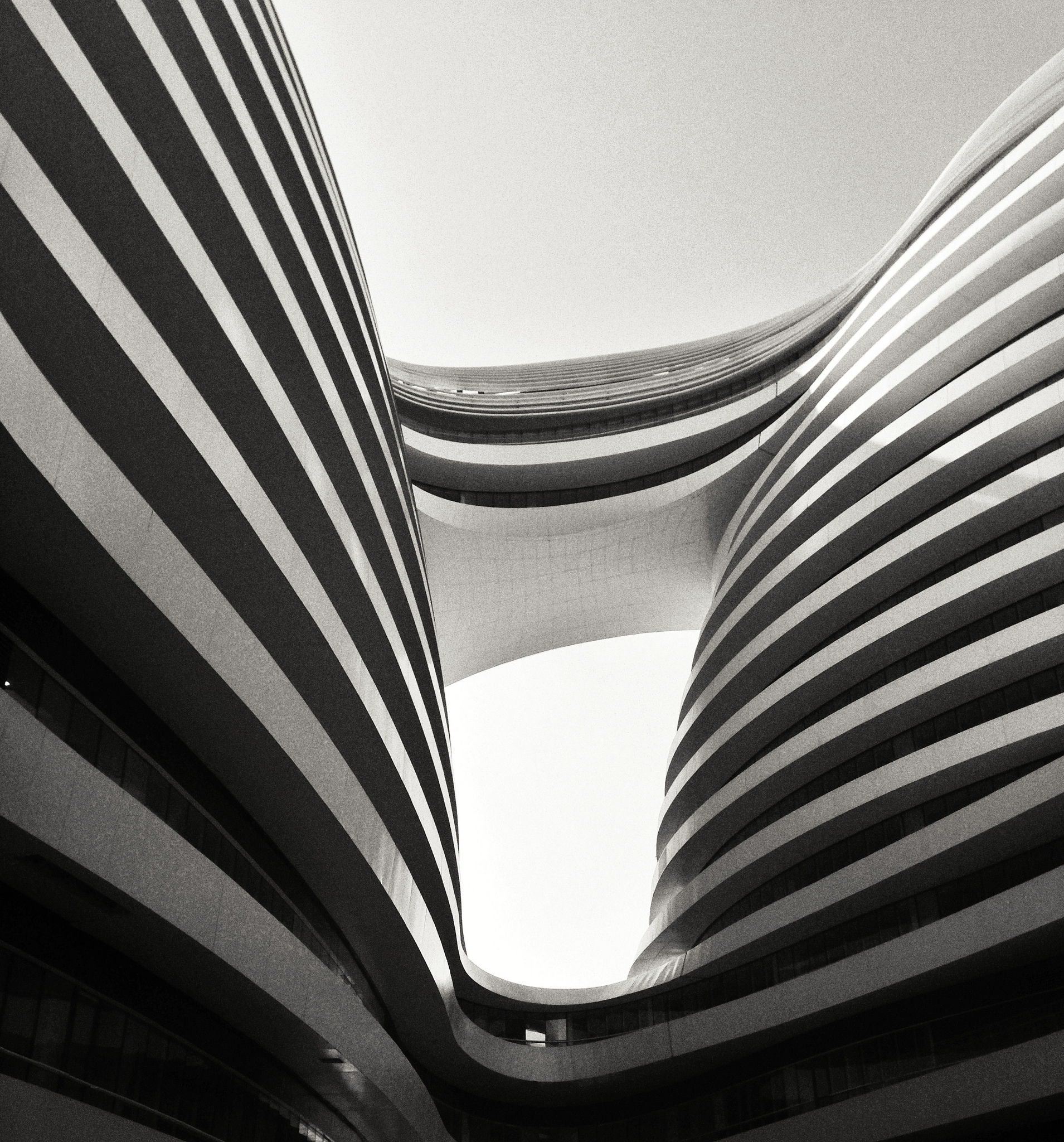 Zaha Hadid's Galaxy SOHO development in Beijing, China