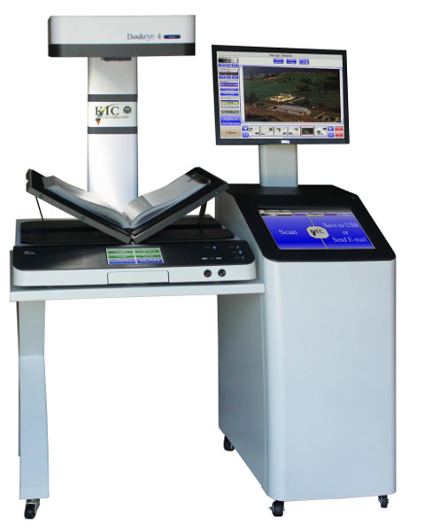 Kick Book Eye Scanner