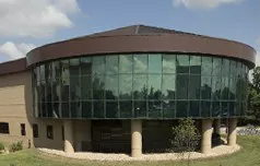 image of Connell Information Technology Building, which houses the Library