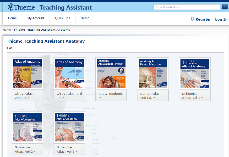 Image of Teaching Assistant interface