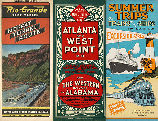 railroad timetable images