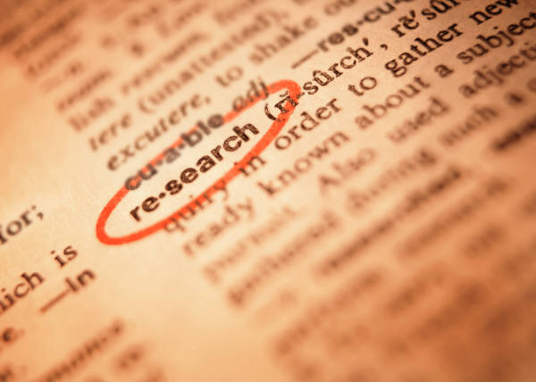 image of a dictionary with the word reference circled.