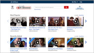 films on demand database tutorial screencapture