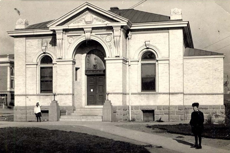 Reno's first public library, circa 1905