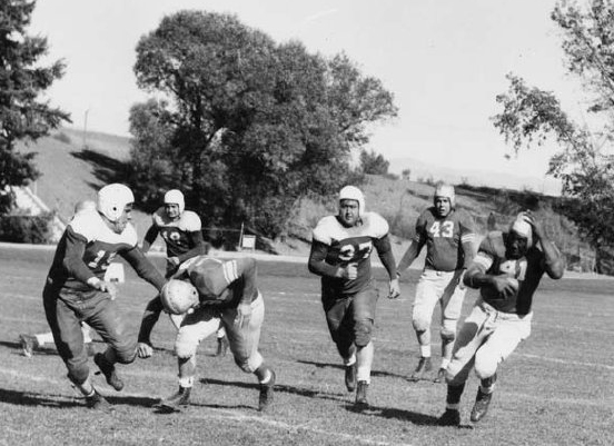 1941 UNR Football featuring Marion Motley, one of the first four African Americans who broke the color barrier in the NFL