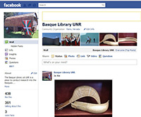 Basque Library Facebook Page