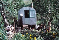 Sheepherder's Trailer Home