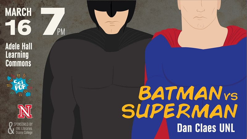 Batman vs. Superman word art image