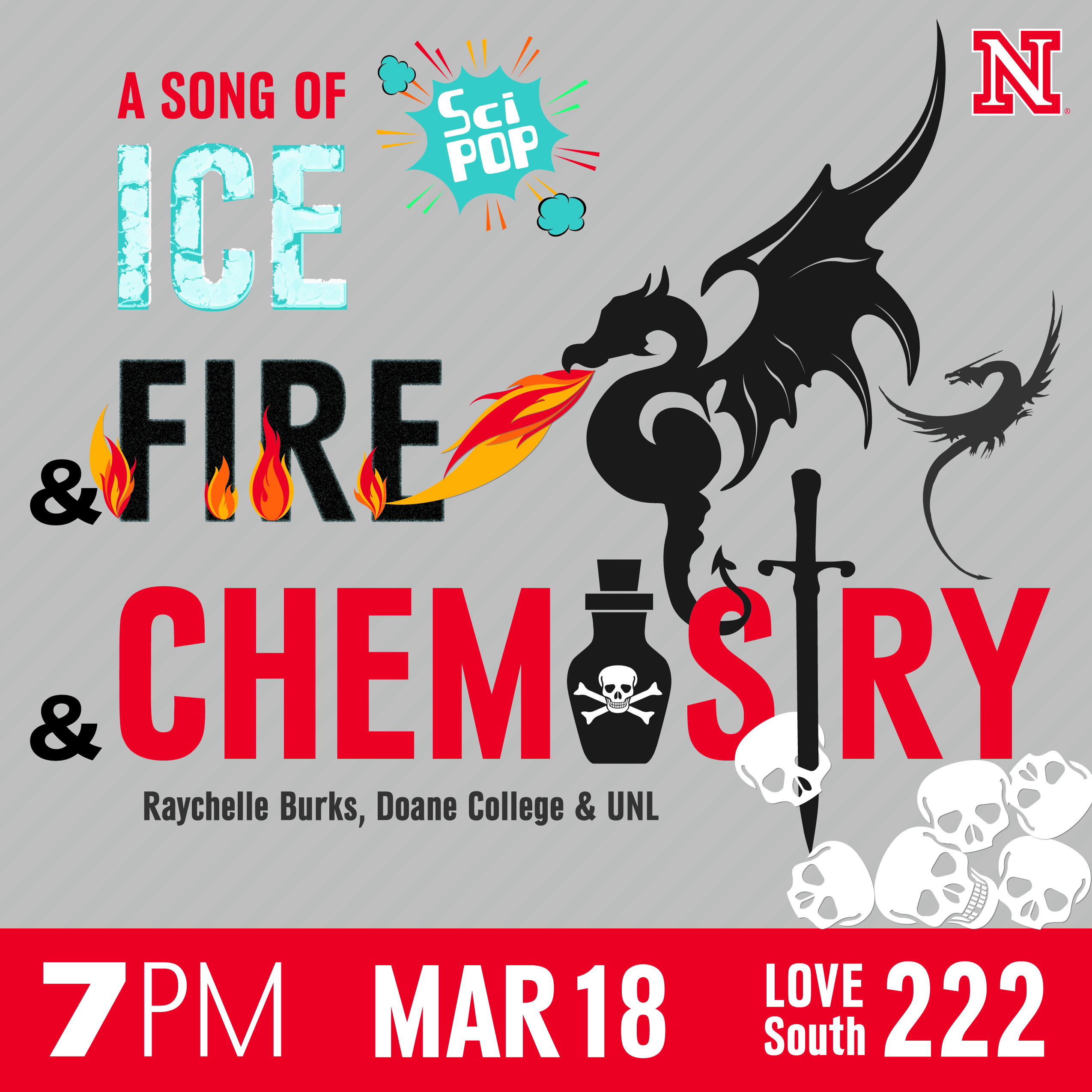 A Song of Ice and Fire and Chemistry
