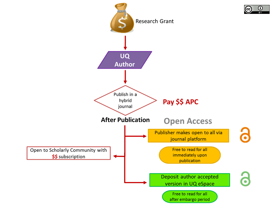 Hybrid Gold Open Access Model