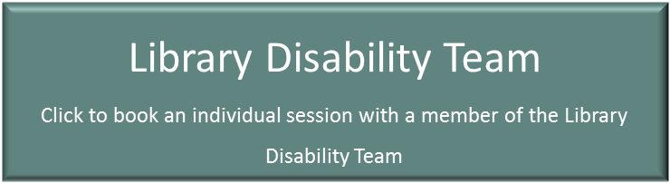 Library Disability Team