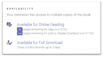 Ebook central proquest ebooks lund university libraries the right hand side of the record in the availability box you will find information about access number of days for check out printing and copying fandeluxe Epub