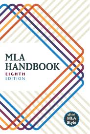 Book cover for MLA Handbook 8th edition