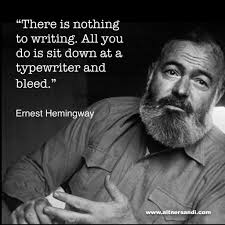 Ernest Hemingway advice on writing