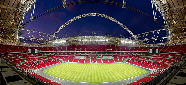 Wembley stadium by Norman Foster via Flickr some rights reserved