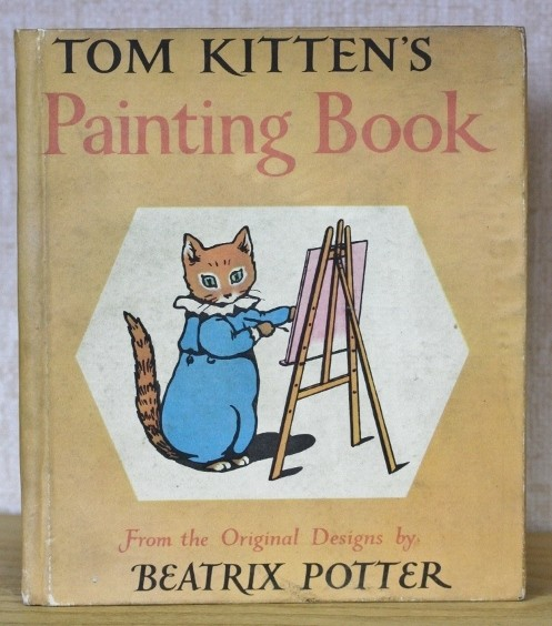 Tom Kitten's Painting Book cover