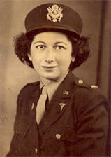 Sarah Brody, Army Nurses Corp, from Jewish Women's Archive