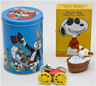 Cartoon character collectibles