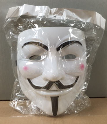 """Vendetta"" mask collected at Occupy Wall Street event"
