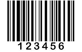 Sample barcode