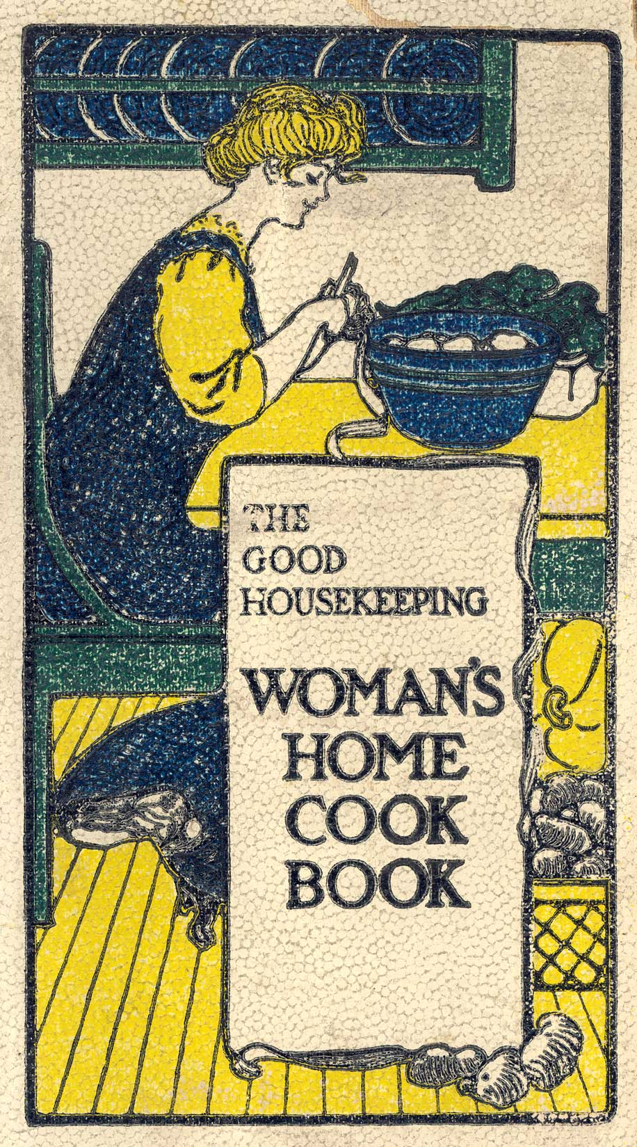 Book cover - The Good Housekeeping Woman's Home Cook Book