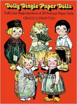 Dolly Dingle paper doll book cover
