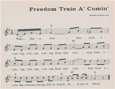 Excerpt from Freedom Train A'coming