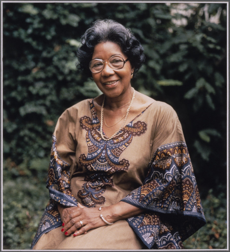 Photograph of Maida Kemp, interviewee in the Black Women Oral History Project