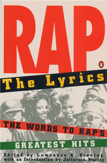 Cover image for Rap: The Lyrics