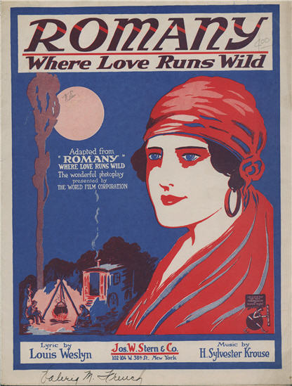 Cover of Romany, Where Love Runs Wild