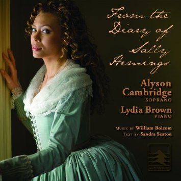 "Cover image of CD ""From the Diary of Sally Hemings"""