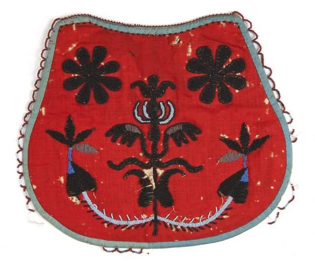 Dakota-Metis beaded bag, 1860.