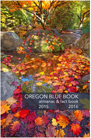 Cover of Oregon Blue Book