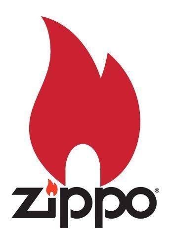 Briquets Zippo avec logo de la marque  www.le briquet