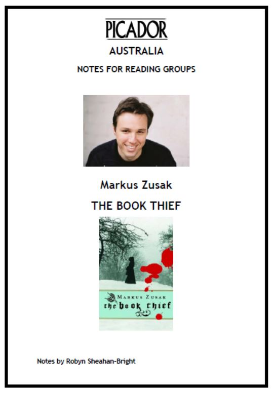 an overview and analysis of the novel the book thief by markus zusak