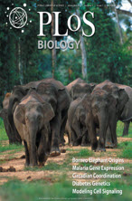 PLoS Biology journal cover