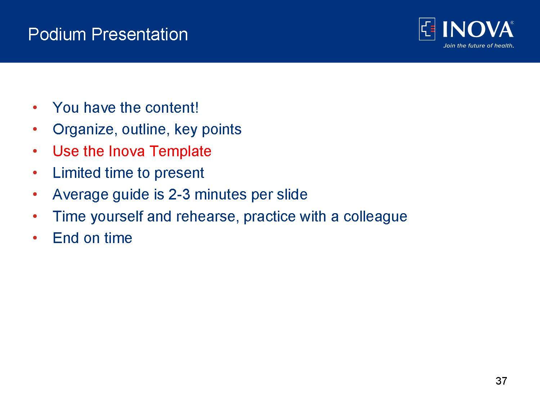 Poster presentation template for nursing