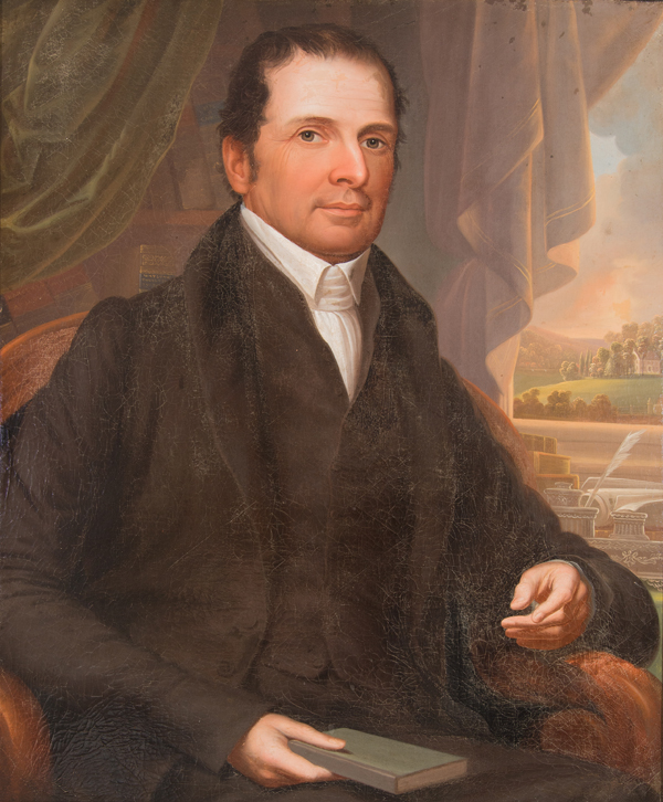 William Logan Fisher portrait