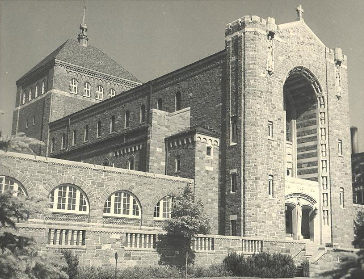 1949 Our Lady Queen of Peace Chapel and Library