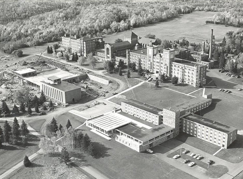 1968 Science Building Construction