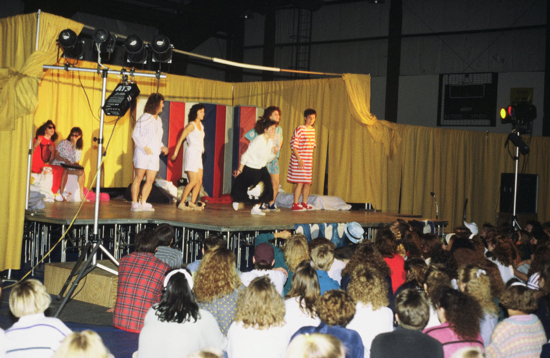 1991 Air Jam Concert in Reif Gymnasium